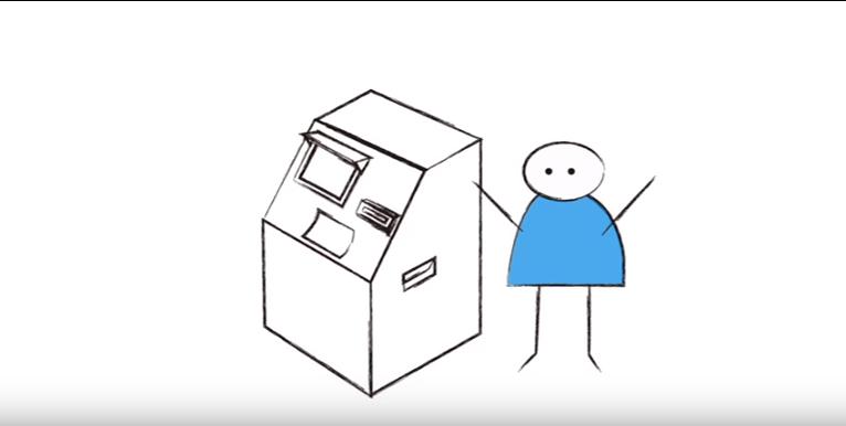 Cajeros automáticos como soportes publicitarios
