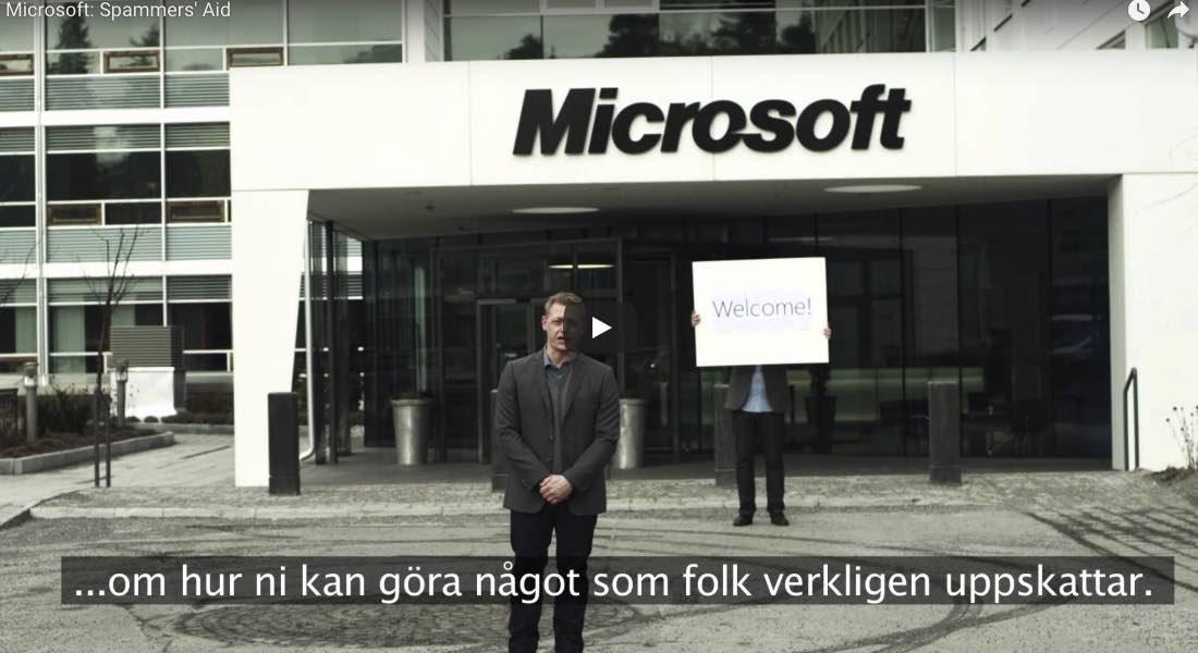 Microsoft reeducando a los spammers suecos