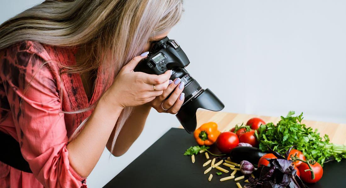 La fotografía publicitaria y el diseño web