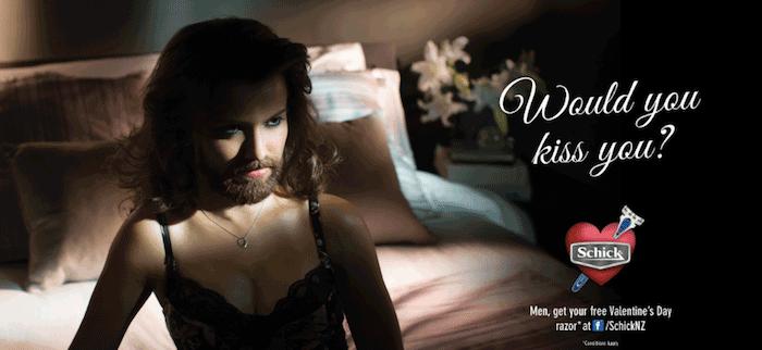 Campaña publicidad San Valentín