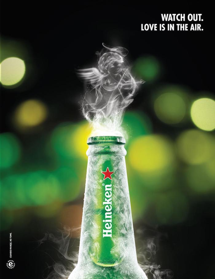 Campaña San Valentín Heineken