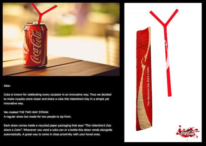 Publicidad Coca Cola Día de San Valentín