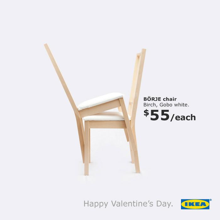 Publicidad IKEA San Valentín