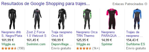 Google AdWords Shopping