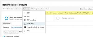 Filtro avanzado en Informe de Producto de Google Analytics-3