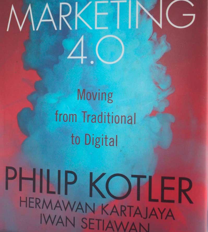 Portada del libro Marketing 4.0 por Philip Kotler