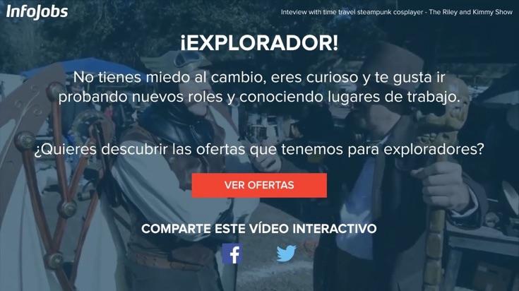 Videos interactivos y llamadas a la acción