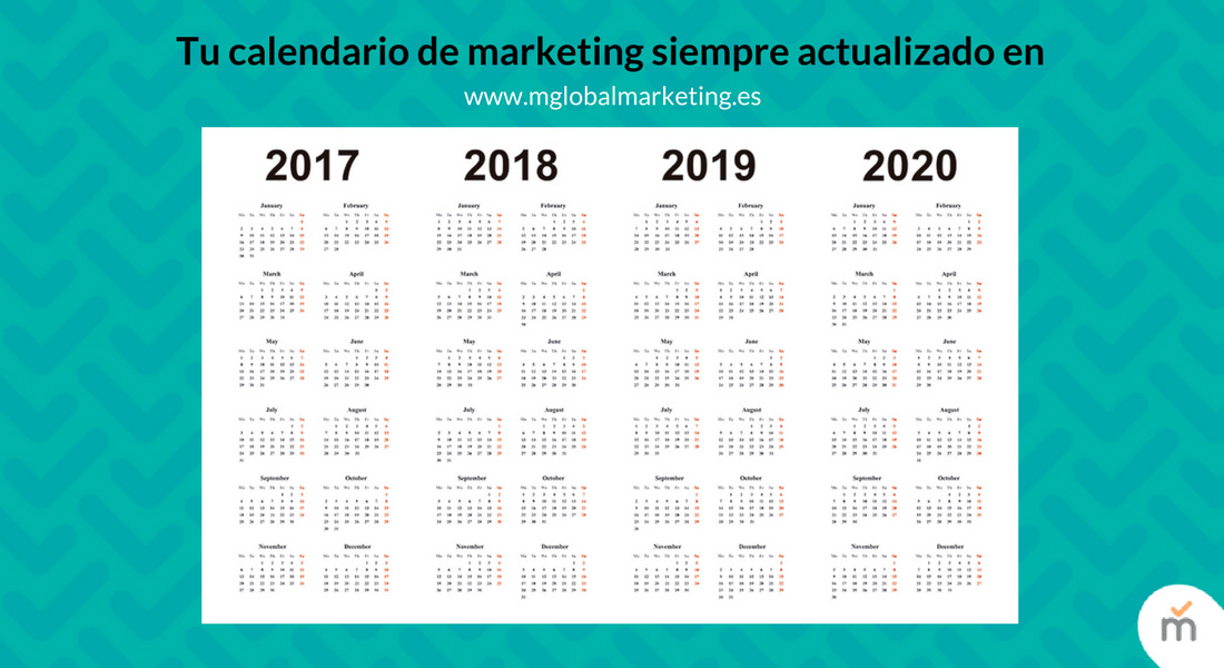 calendario de marketing siempre actualizado