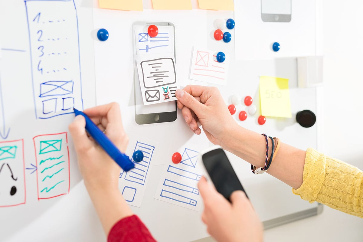 recorrido del usuario en servicios de marketing online y desarrollo de estrategia