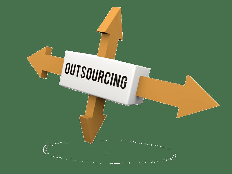 icono con flechas para servicios de outsourcing y planificacion de campañas multicanal