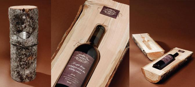 Packaging orginales botella de vino