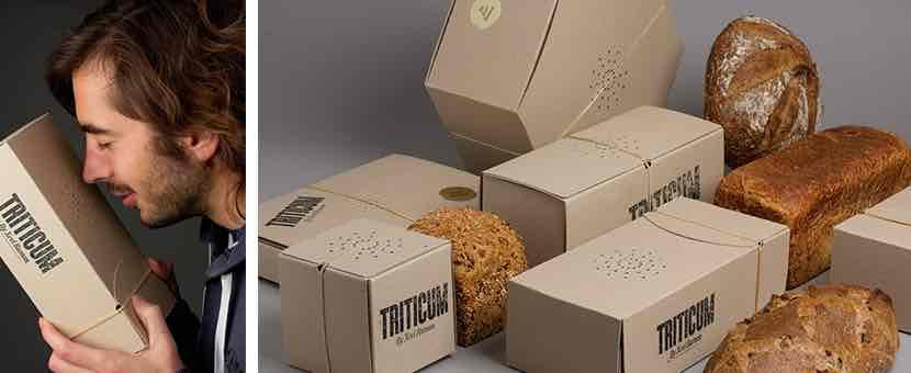 Packaging originales triticum