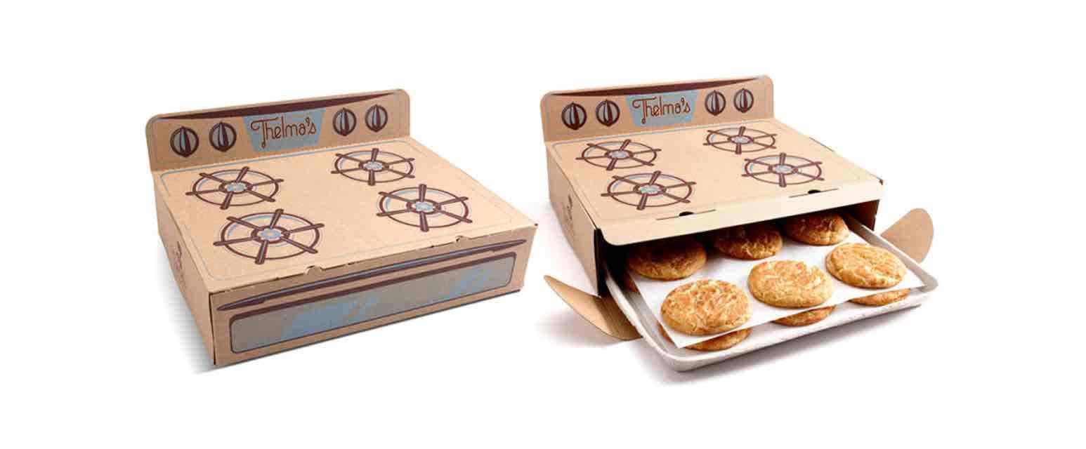 packaging originales Thelma's